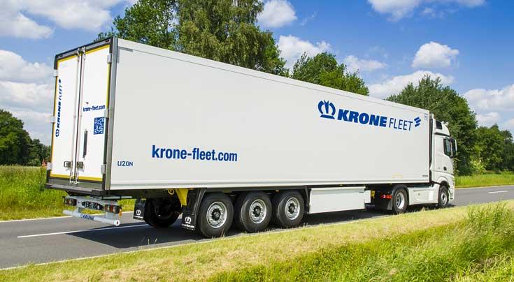 Neue Marke: Aus LT Rental und Paul G�nther wurde jetzt Krone Fleet. Foto: Krone
