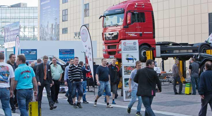 Jede Menge Truck-Competence: Das Thema Nutzfahrzeuge wird auch auf der Automechanika 2014 eine gewichtige Rolle spielen. Foto: Messe Frankfurt