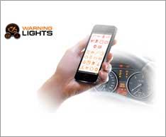 Warnlicht-App. Foto: HaynesPro