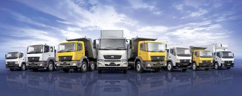 Die Lkw-Marke BharatBenz wird speziell f�r den indischen Markt produziert. Foto: Daimler