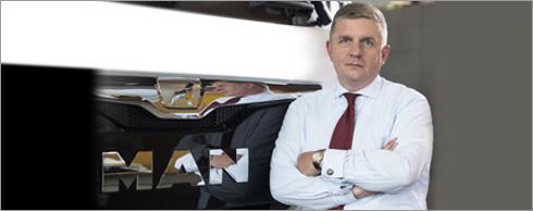 Holger Mandel, Sprecher der Gesch�ftsf�hrung der MAN Finance International GmbH.