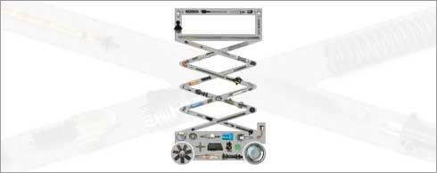 TVH hat eine große Auswahl an Teilen für Arbeitsbühnen. Foto: TVH