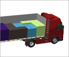 Ob Truck oder Container: Software kann helfen, Laderaum besser auszulasten. Foto: leogistics