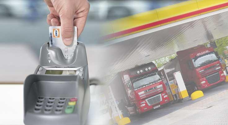 Tankkarten sind heute ein gängiges Zahlungsmittel für Kraftstoff und mehr. Foto: DKV Euro Service