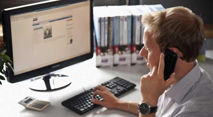 Teile ordern rund um die Uhr: Der winkler-Onlineshop ist auf die Kundenbedürfnisse zugeschnitten. Foto: winkler