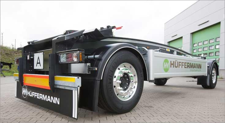H�ffermann Transportsysteme hat die Fertigungsmethoden und viele Details des Fahrzeugs weiter verbessert. Foto: H�ffermann Transportsysteme