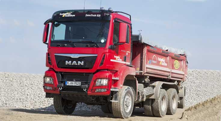 Information und Faszination: Beides vereint sich auf den MAN Trucknology Days. Foto: MAN