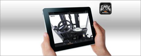 Nehmen Sie virtuell im Still-Fahrzeug Platz. Foto: Still GmbH