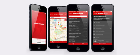 Wenn es schnell gehen muss: Die Hansa-Flex App verfügt jetzt über eine Notruffunktion. Foto: Hansa-Flex