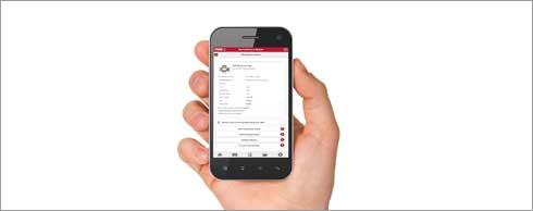 Kunden sollen mit der App auch ihre eigenen Barcodes für die MTS-Bestellung scannen können. Foto: TVH
