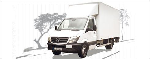 Im Aufbauherstellerportal der Daimler AG finden sich auch alle Informationen f�r Um-, Auf- und Ausbauten f�r den Sprinter. Foto: Daimler