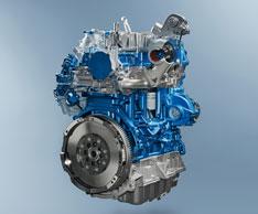 2 l Hubraum f�r den Transit: Ab sofort wird die Baureihe mit dem neuen Ford-EcoBlue-Motor ausgestattet. Foto: Ford
