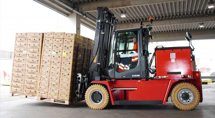 Hier muss der Kalmar ECG90-6LS Leistung zeigen. Foto: Kalmar
