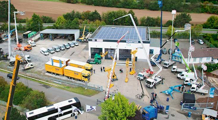 Breites Technikprogramm im Angebot: Am 3. September wird in Northeim ein breites Hebe- und Fahrzeugspektrum zu sehen sein. Foto: Schnitger