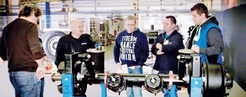 Der Nutzfahrzeugzulieferer SAF-Holland b�ndelt seine Profilehrg�nge in der neuen SAF-Holland Academy in Aschaffenburg. Foto: SAF-Holland