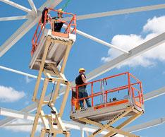 Mehr Standorte, mehr Maschinen und ein neuer Geschäftsführer: Die Riwal-Arbeitsbühnenvermietung stellt sich neu auf. Foto: Riwal