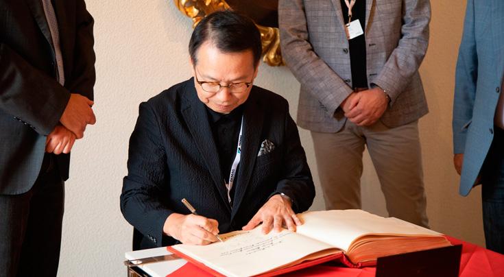 Koichi Tadano, Präsident und CEO von Tadano Ltd.